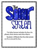 The Solar System Lapbook