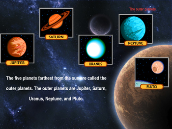 The Solar System, Lesson 1