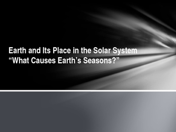 The Solar System, Lesson 2