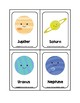 The Solar System Picture Word Flash Cards