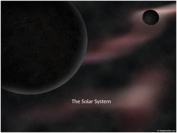 The Solar System - PowerPoint (Planets, Asteroids and Comets)