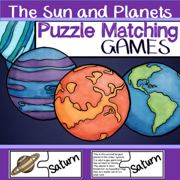 The Solar System - Puzzle Game