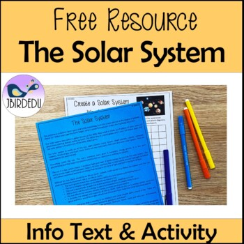 The Solar System.  Information Texts. Differentiated