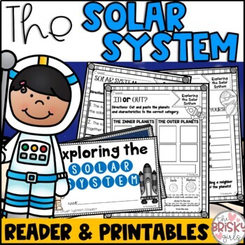 The Solar System Reader and Printables