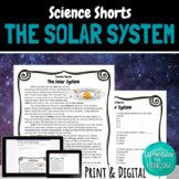 The Solar System Reading Comprehension Passage