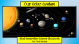 The Solar System - NGSS for First Grade)