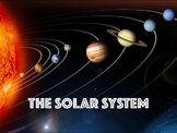 The Solar System - The Sun, Planets and Moon