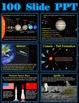 The Solar System Unit Bundle - 5 Lessons, Powerpoint, Printables & Test