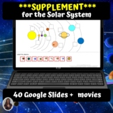 The Solar System Unit for Special Ed for google classroom