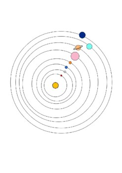 The Solar System Word Search and Color