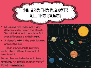 The Amazing Solar System Powerpoint