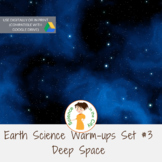 The Solar System and Deep Space Exit Ticket or Bell Ringer