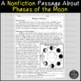 The Solar System and Phases of the Moon Reading Comprehension Paired Passages