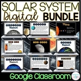 The Solar System and Planets Digital Unit BUNDLE for GOOGLE