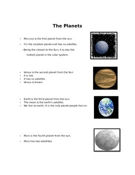 The Solar System for 2nd Grade