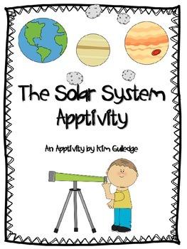 The Solar System iPad Apptivity