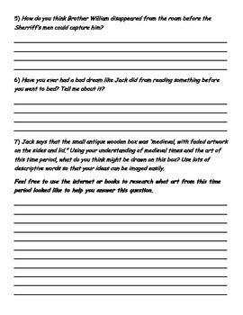 The Sorcerer's Letterbox Novel Study - Middle Ages - Junior Grades