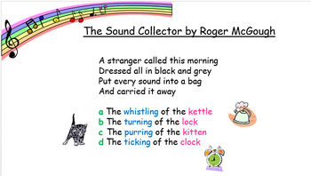 The Sound Collector by Roger McGough