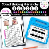 The Sound Shaping Hierarchy Curriculum {Early Sounds Bundle}