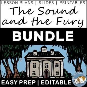 The Sound and the Fury Activity Mini Bundle