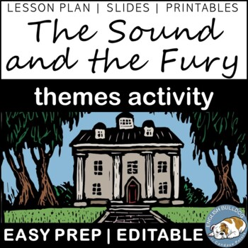 The Sound and the Fury Themes Textual Analysis Activity