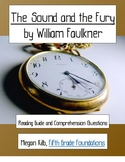 The Sound and the Fury William Faulkner reading guide/comp
