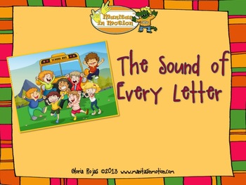 The Sound of Every Letter - Songbook Mp3 Digital Download