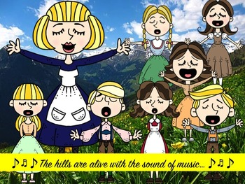 The Sound of Music Clip Art Collection