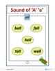 """The Sounds of """"A"""" - Pre-K to K Worksheets (9 Pages) FREE Download"""