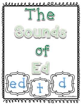 The Sounds of Ed: d, t, ed