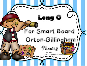 Long O Activities For Smart Board Orton-Gillingham Phonics