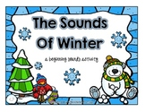 The Sounds of Winter - {A Beginning Sounds Matching Activity}
