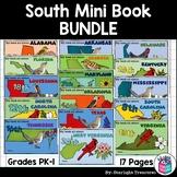 The South United States Mini Book Bundle- Georgia, Texas, Alabama, Florida