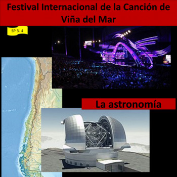 Astronomy / A pop music festival, 2 units about Chile - SP