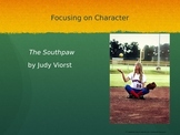 The Southpaw by Judy Viorst Short Story Lesson