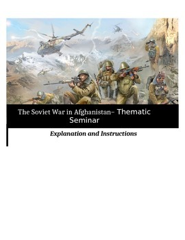 Socratic Seminar - The Soviet War in Afghanistan - Common Core Aligned