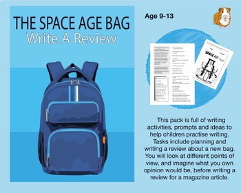 The Space Age Bag: Write A Review (9-13 years)