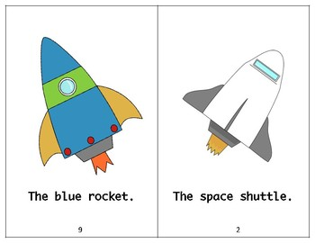 The Space Book - Guided Reading Levels aa/A