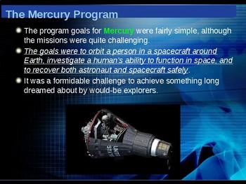The Space Race - Project Mercury