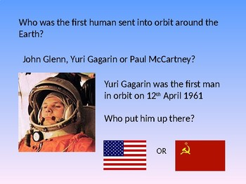 The Space Race - Quiz Activity