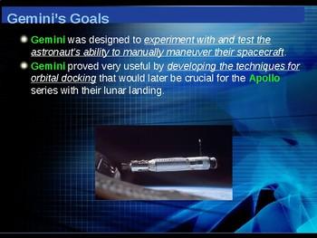 The Space Race - The Gemini Program