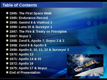 The Space Race - Timeline of Events - 1957-1975