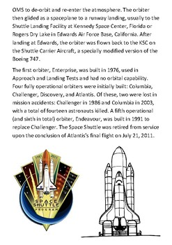The Space Shuttle Handout