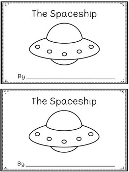 The Spaceship -A Color Word Booklet