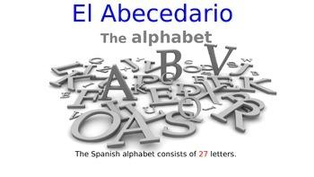 The Spanish Alphabet (El abecedario / alfabeto en español)