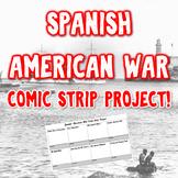 The Spanish-American War Comic Strip Project