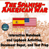The Spanish-American War Interactive Notebook Activities w