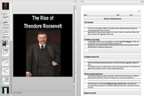 The Spanish American War and Teddy Roosevelt Powerpoint AND Notes Worksheet