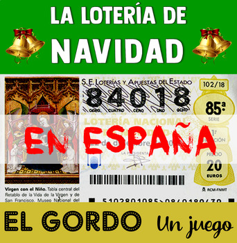 The Spanish Christmas Lottery Game - El Gordo - for Beginners of Spanish