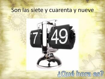 The Spanish Clock (El Reloj)